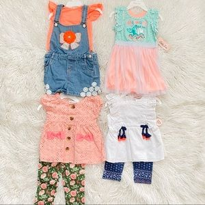 NEW cute little girl clothes sets size 2T